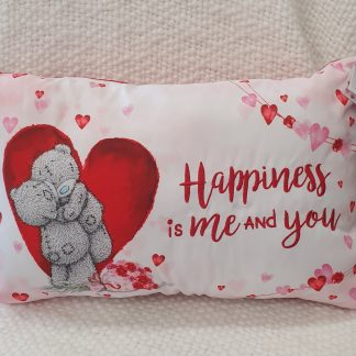 Happiness is me and you Cushion