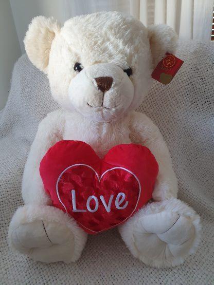 Snuggles plush teddy