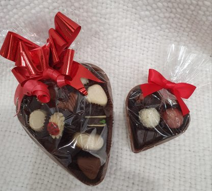 Fremantle Chocolate Factory chocolate hearts with deluxe Truffles