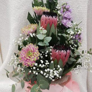 Beautiful Tall arrangement in a Stunning Hat box