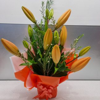 Perth Lock down Special. Small Lily arrangement