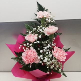 Perth Lock down Special. Small carnation arrangement