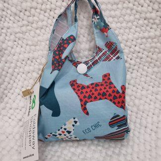 Eco Chic foldaway Shopping Bag