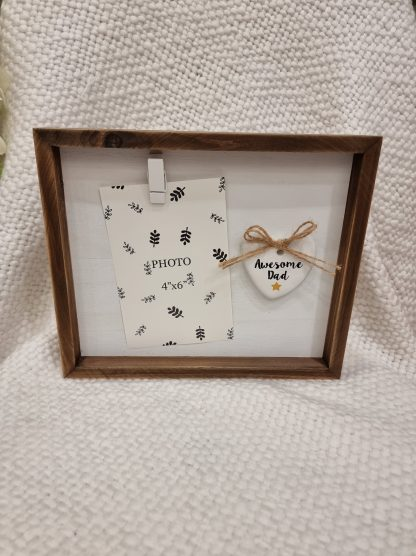 awesome dad photo frame