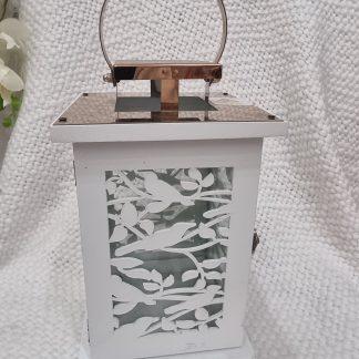 Beautiful White carved bird Lantern